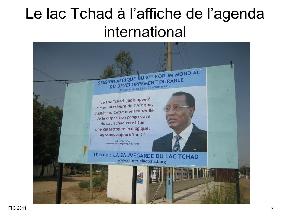 Le lac Tchad à l'affiche de l'agenda international
