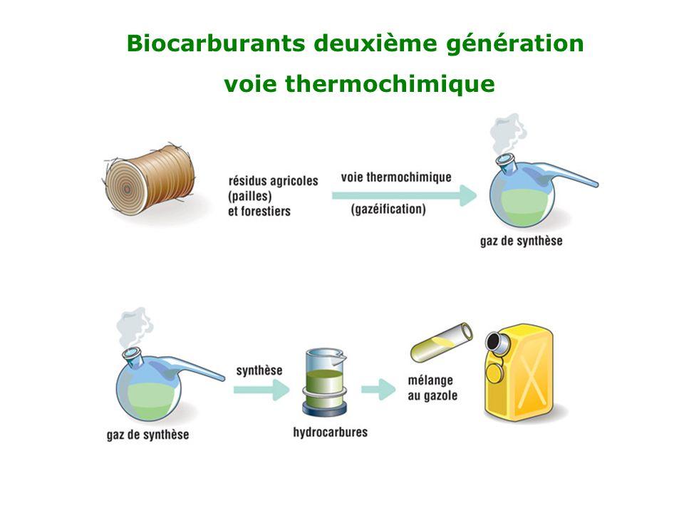 Biocarburants deuxième génération
