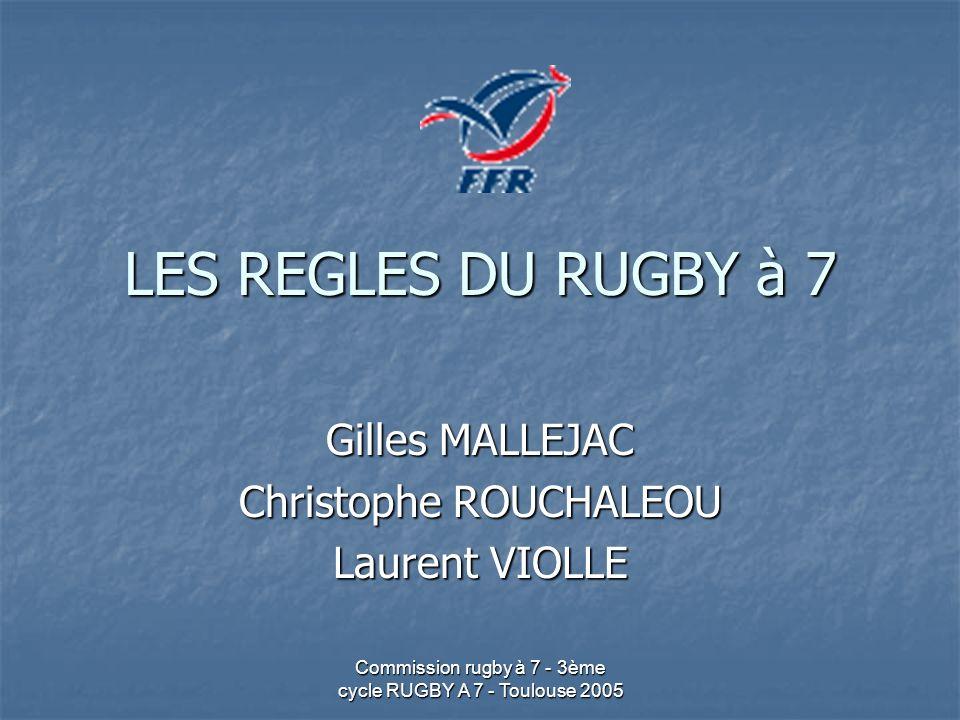 Gilles MALLEJAC Christophe ROUCHALEOU Laurent VIOLLE