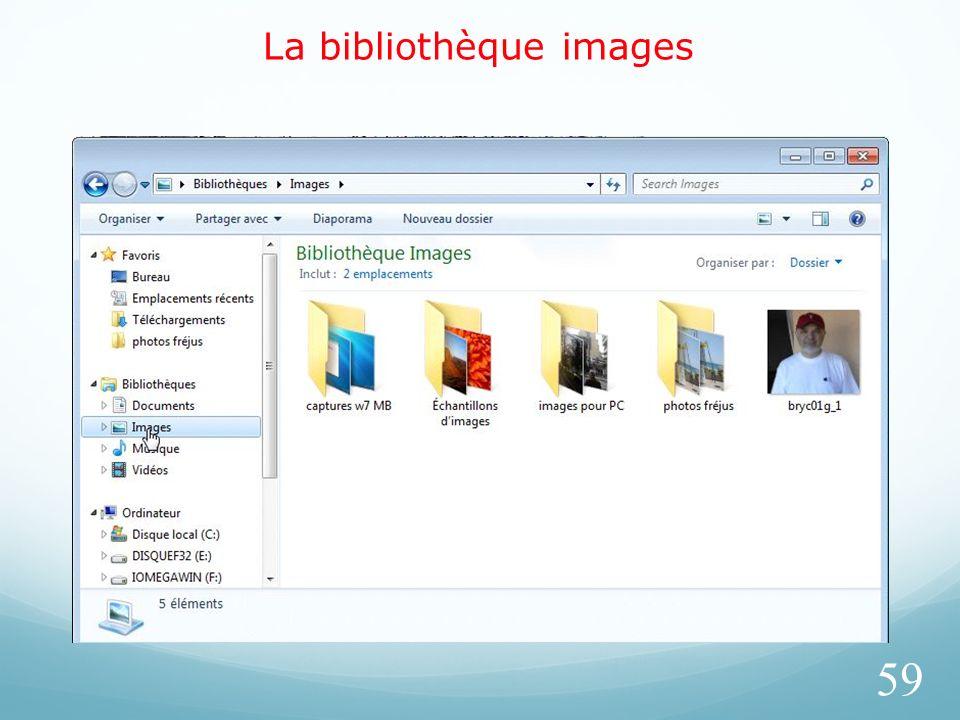 La bibliothèque images