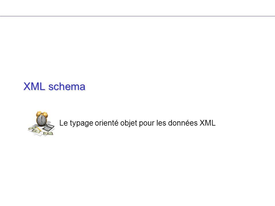Le typage orienté objet pour les données XML