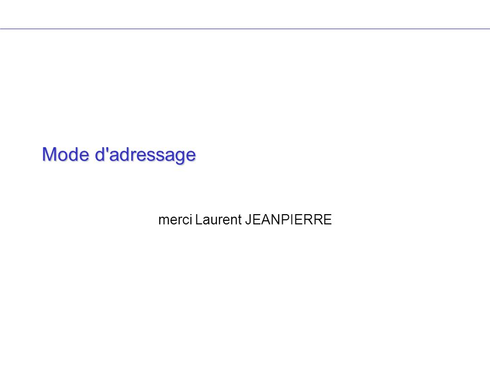 merci Laurent JEANPIERRE