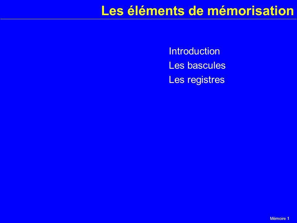 Les éléments de mémorisation