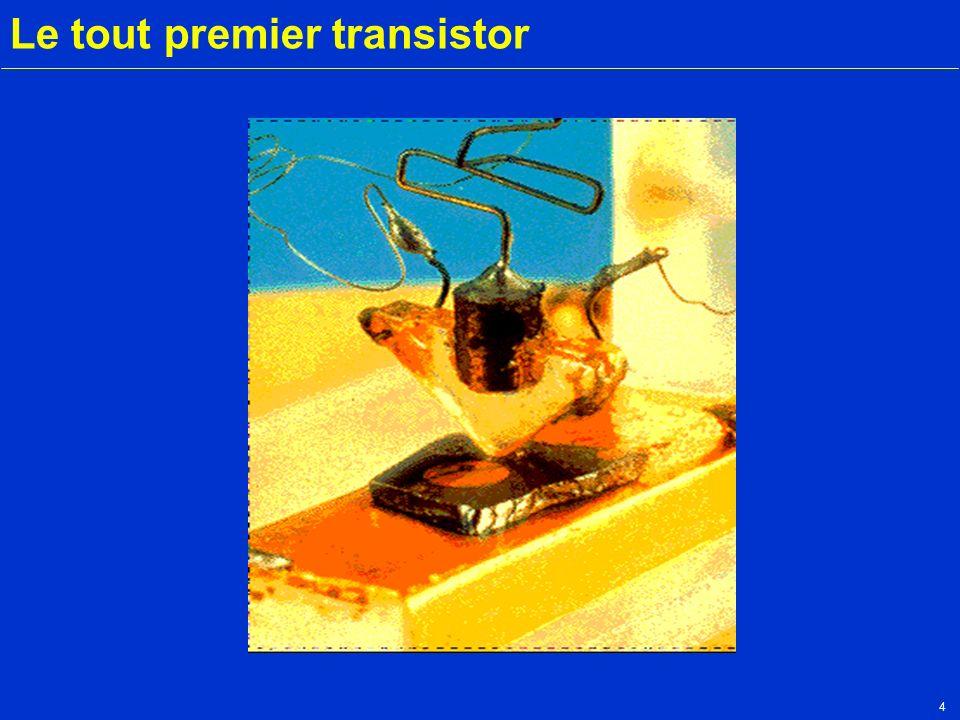 Le tout premier transistor