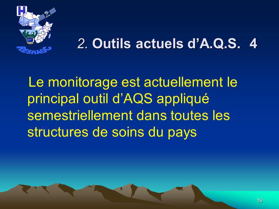RESHAOC 2. Outils actuels d'A.Q.S. 4.