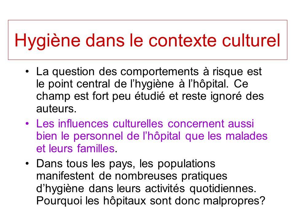 Hygiène dans le contexte culturel