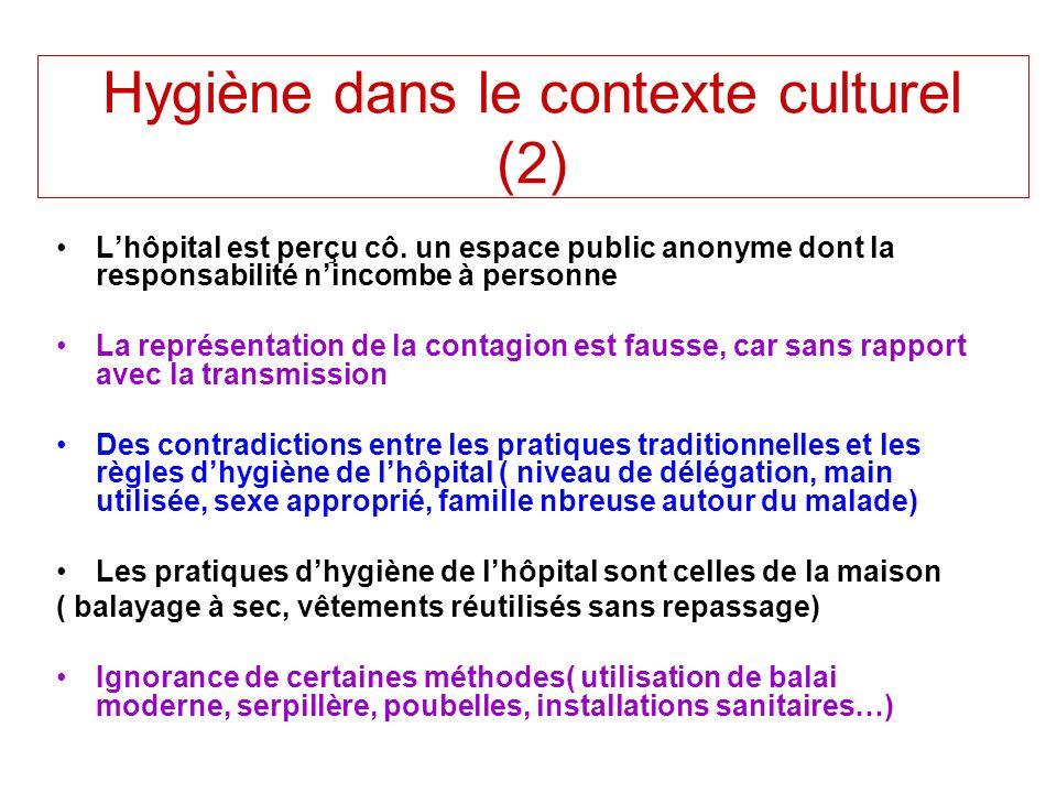 Hygiène dans le contexte culturel (2)