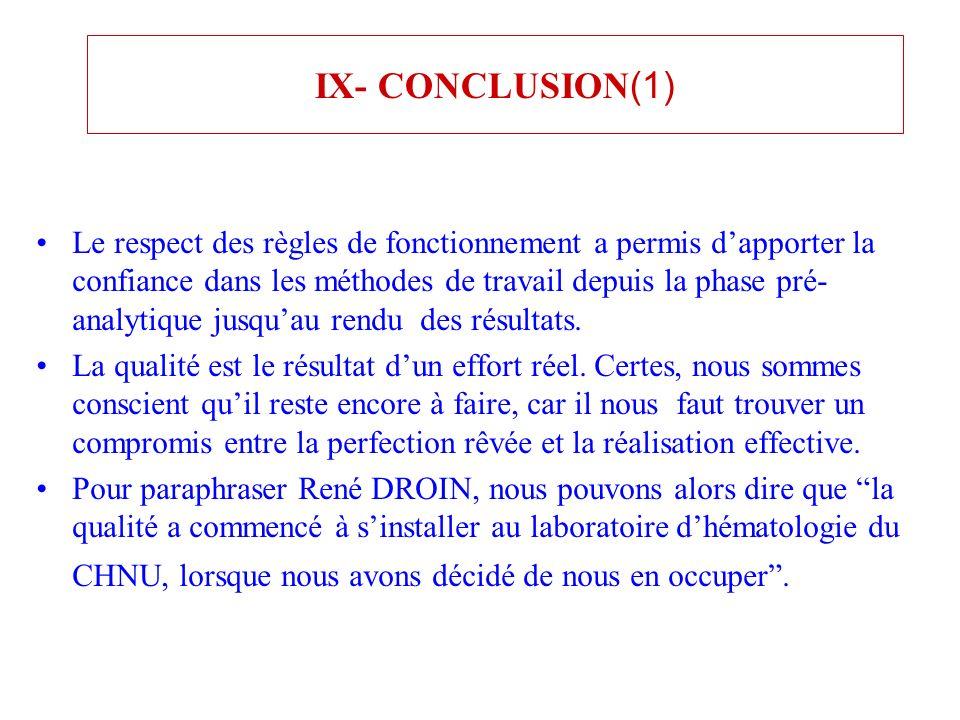 IX- CONCLUSION(1)