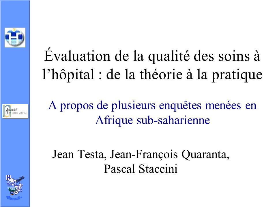 Jean Testa, Jean-François Quaranta, Pascal Staccini