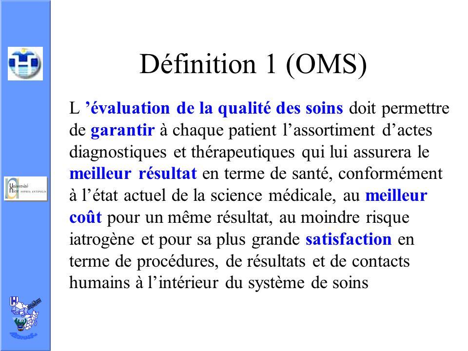 Définition 1 (OMS)