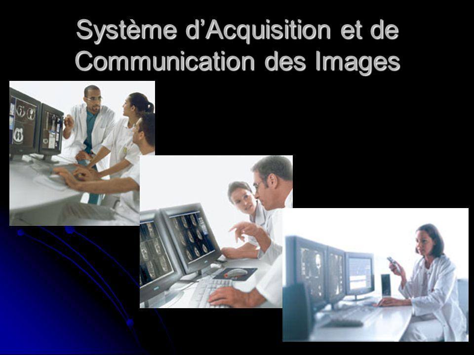 Système d'Acquisition et de Communication des Images