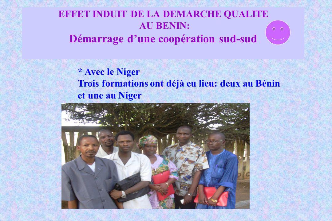 EFFET INDUIT DE LA DEMARCHE QUALITE AU BENIN: Démarrage d'une coopération sud-sud