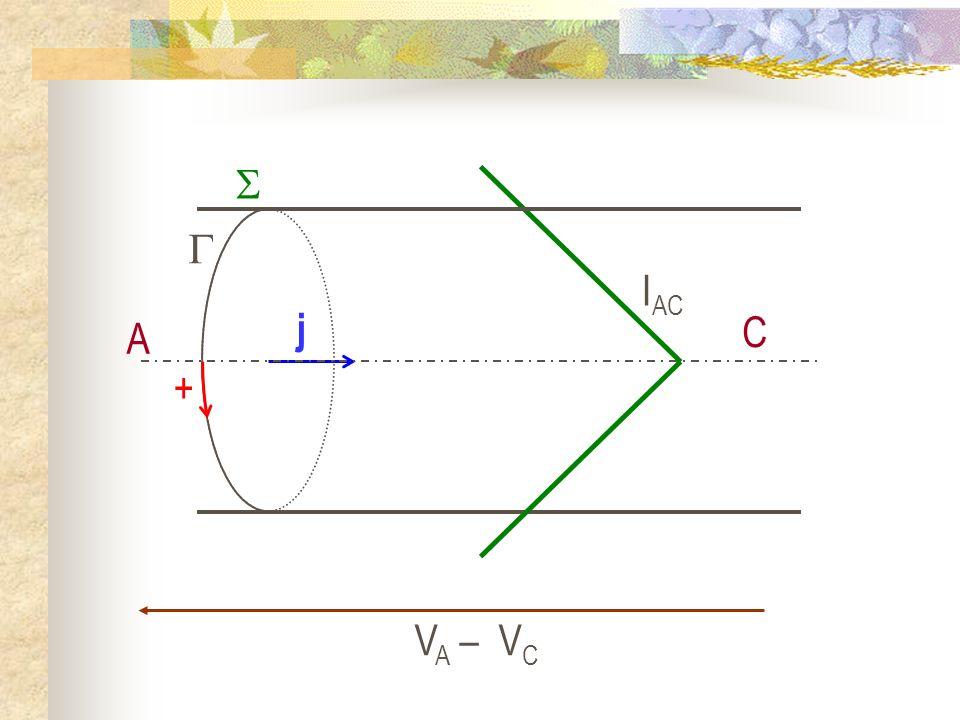 IAC j +   A C VA – VC