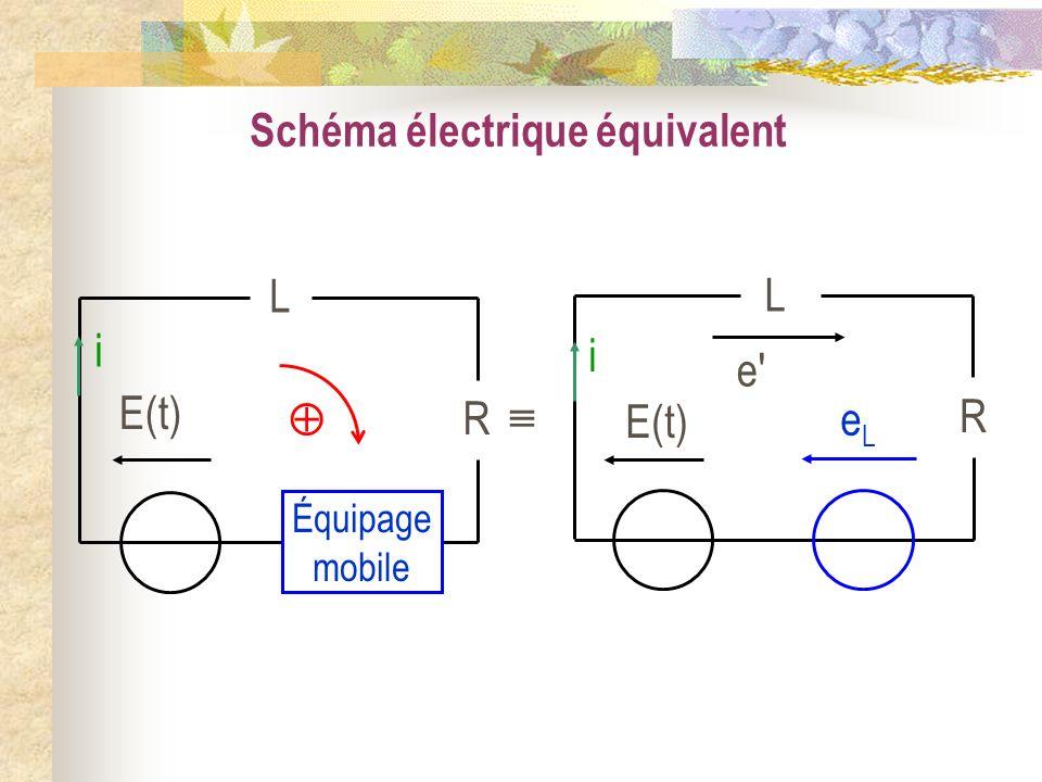 Schéma électrique équivalent