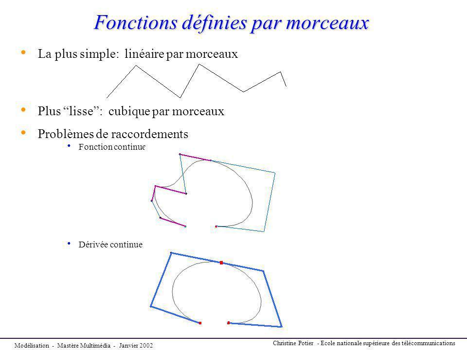 Fonctions définies par morceaux