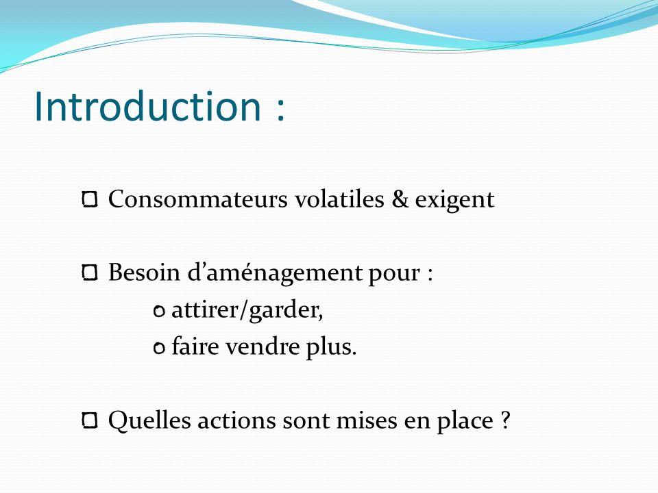 Introduction : Consommateurs volatiles & exigent