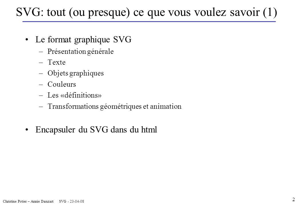 SVG: tout (ou presque) ce que vous voulez savoir (1)