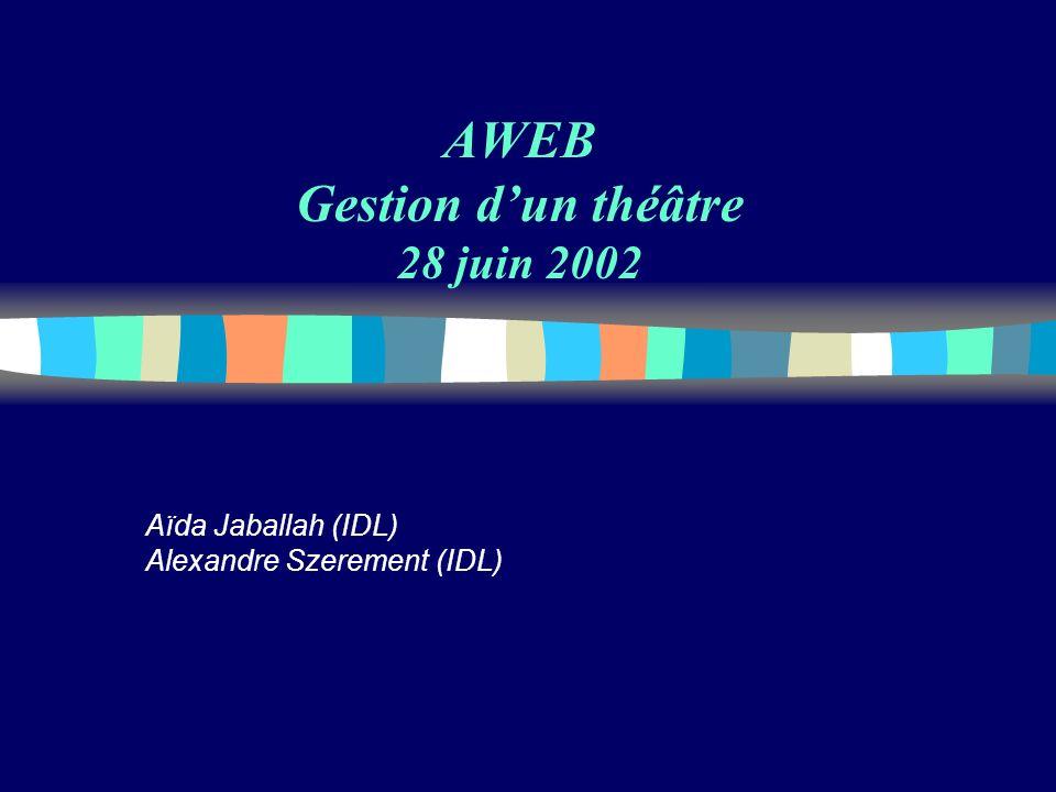 AWEB Gestion d'un théâtre 28 juin 2002