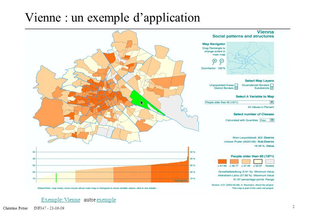 Vienne : un exemple d'application