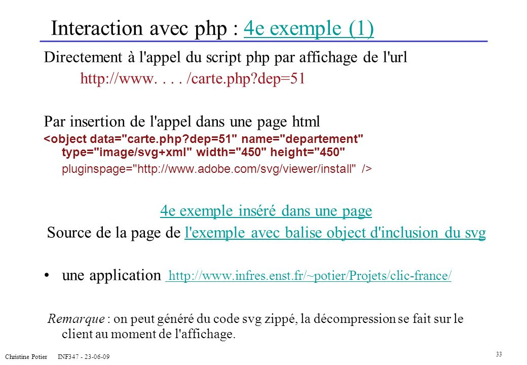Interaction avec php : 4e exemple (1)