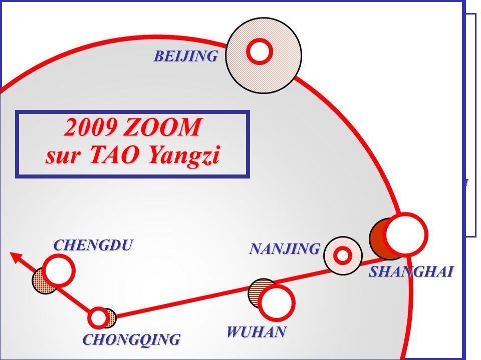 2009 ZOOM sur TAO Yangzi ZOOM 2009 sur TAO-Yangzi BEIJING CHENGDU