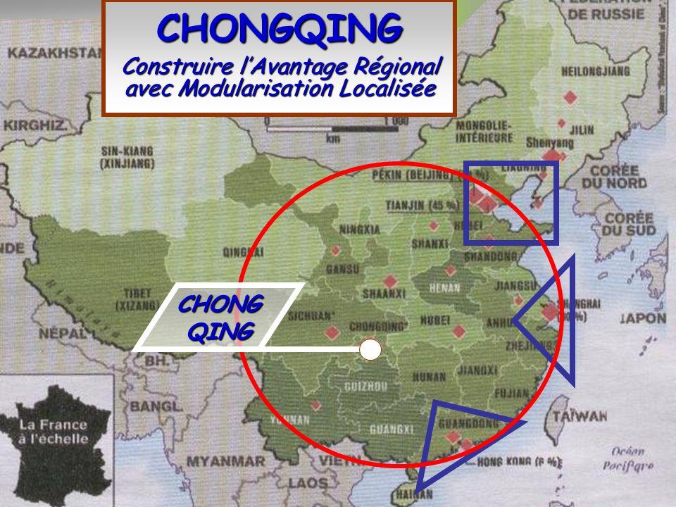 CHONGQING Construire l'Avantage Régional avec Modularisation Localisée