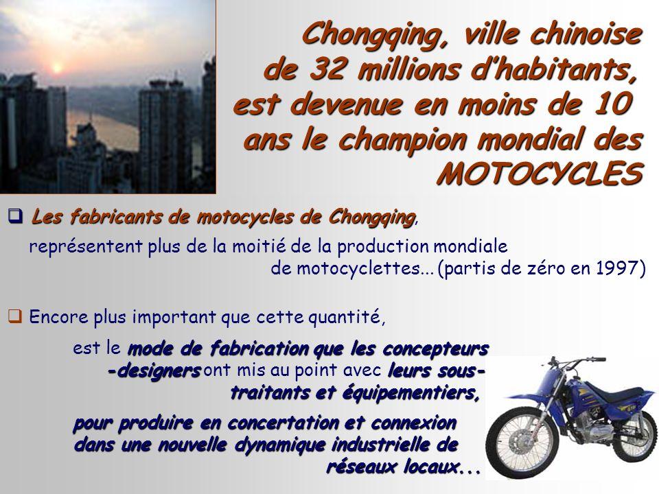 Chongqing, ville chinoise de 32 millions d'habitants,
