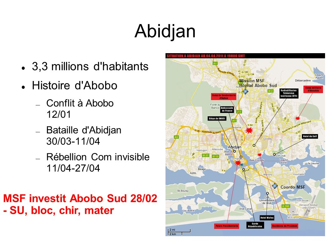 Abidjan 3,3 millions d habitants Histoire d Abobo