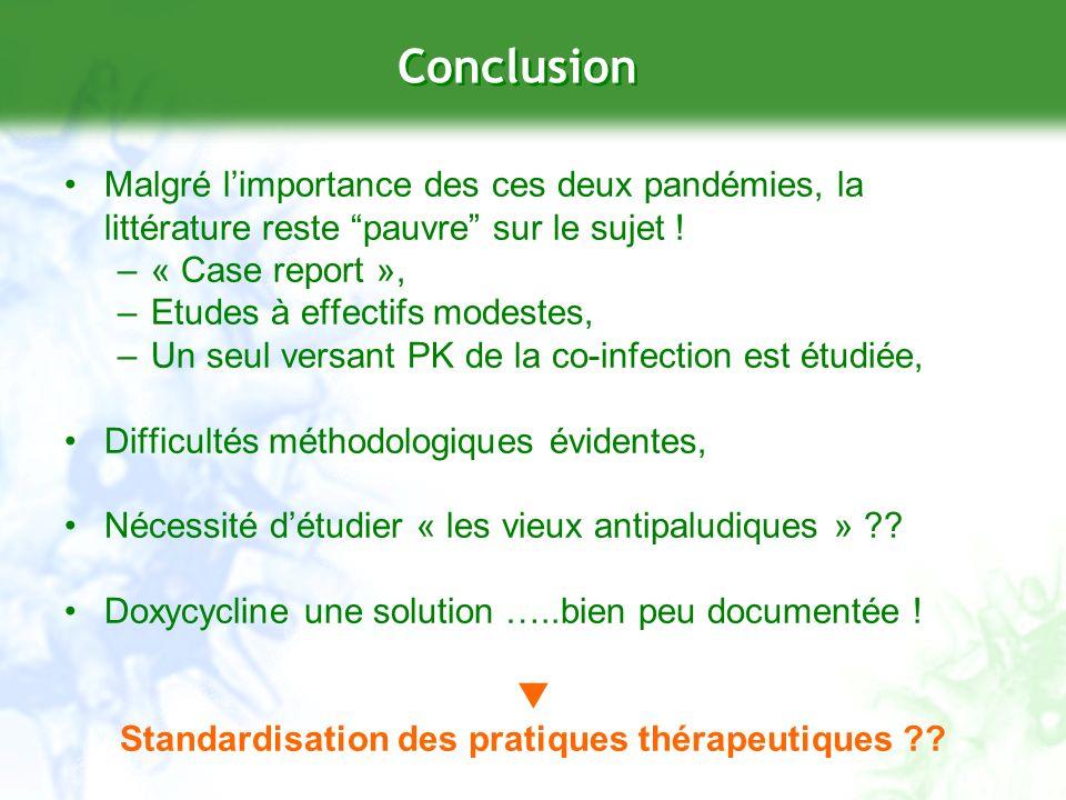 Standardisation des pratiques thérapeutiques