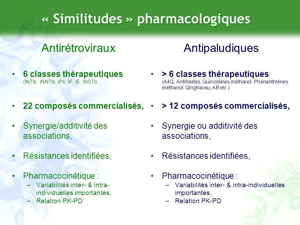 « Similitudes » pharmacologiques