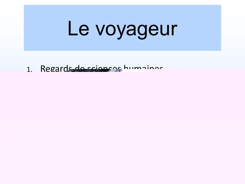 Le voyageur Regards de sciences humaines Statistiques 2011