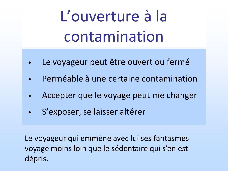L'ouverture à la contamination