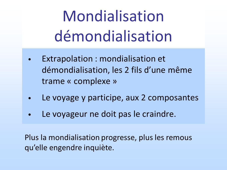 Mondialisation démondialisation
