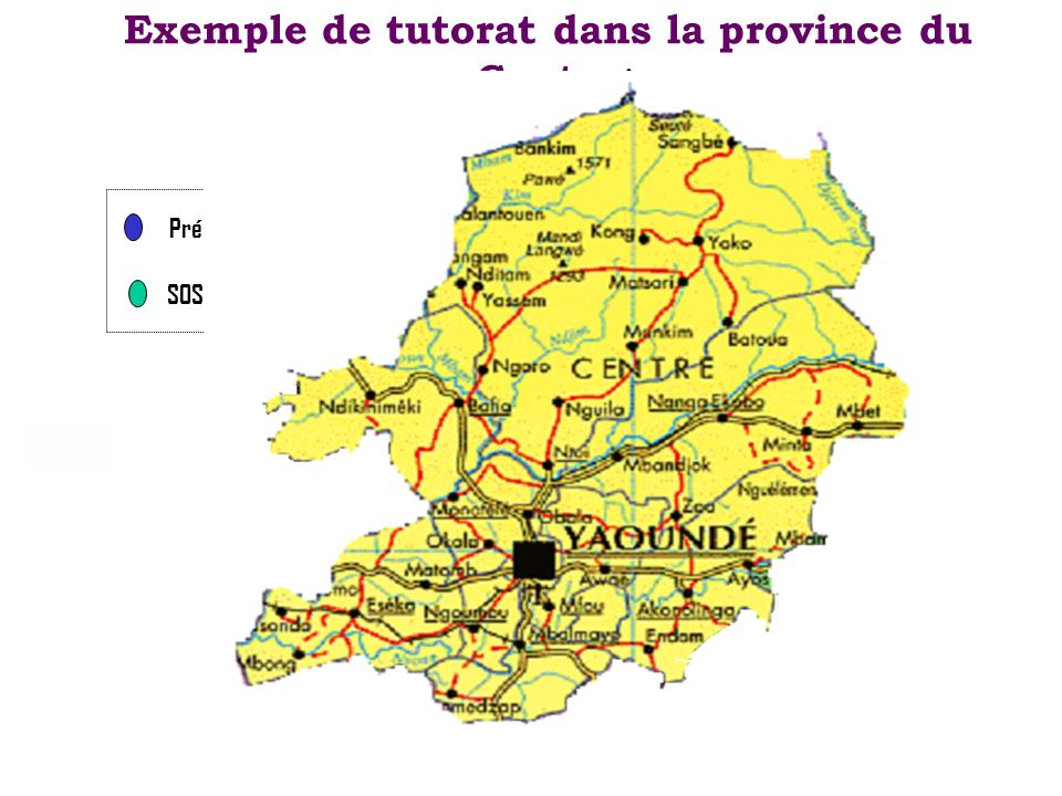 Exemple de tutorat dans la province du Centre