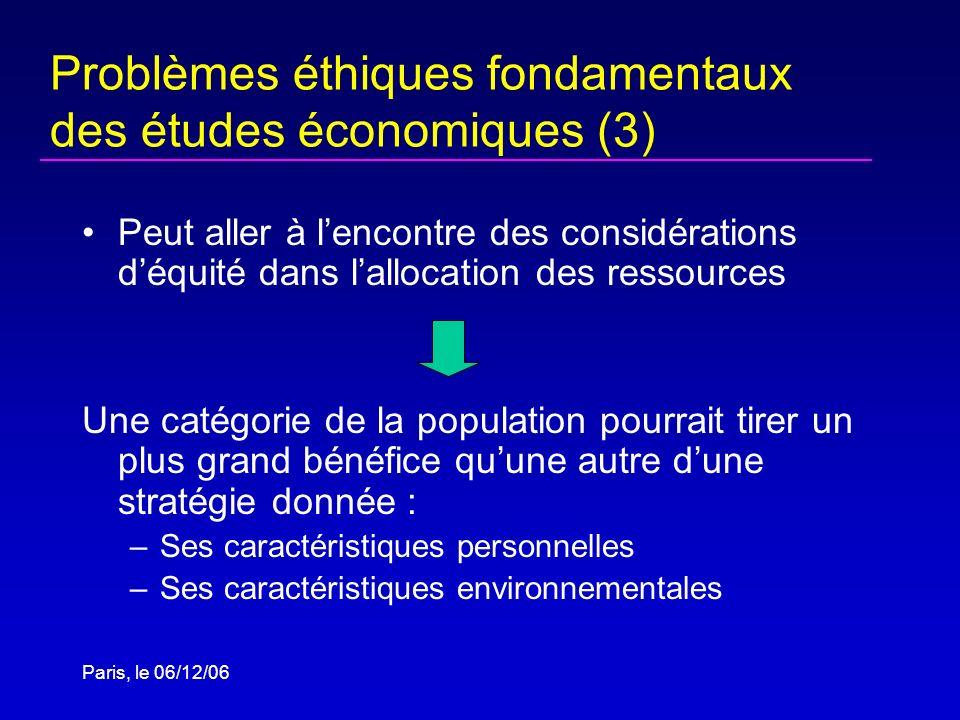 Problèmes éthiques fondamentaux des études économiques (3)