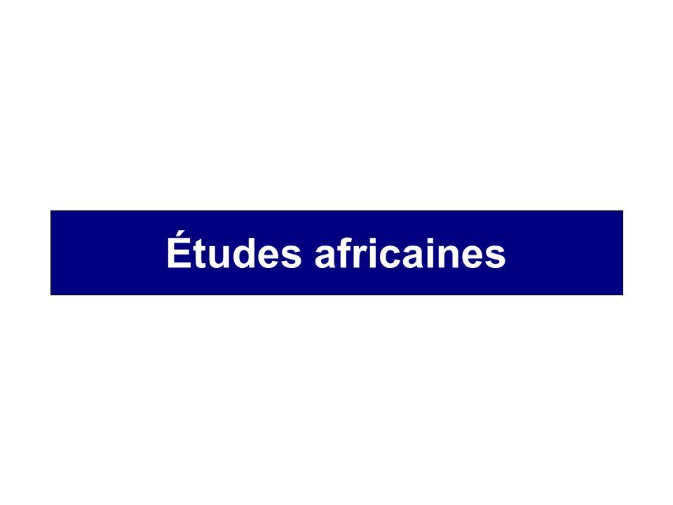 Études africaines