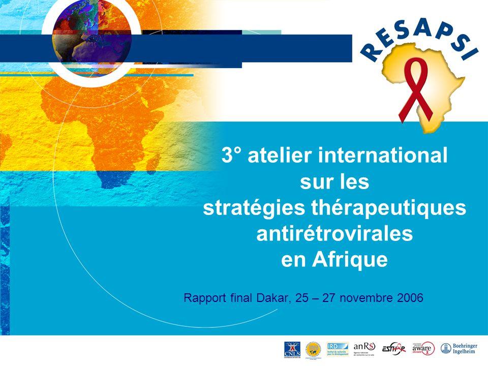 Rapport final Dakar, 25 – 27 novembre 2006