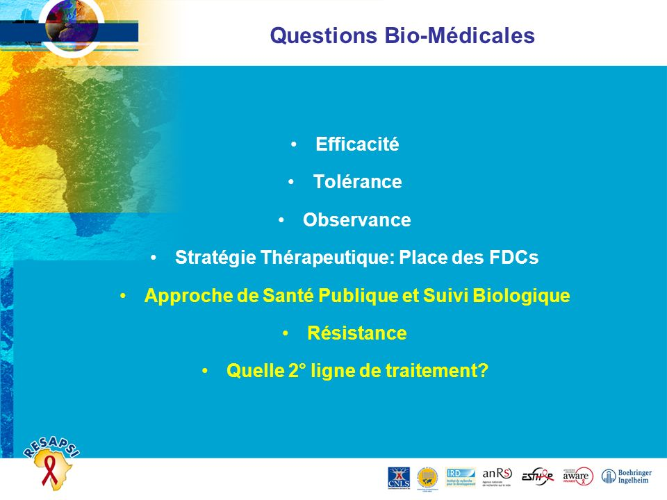 Questions Bio-Médicales