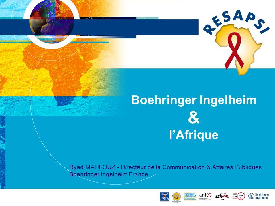 Boehringer Ingelheim & l'Afrique
