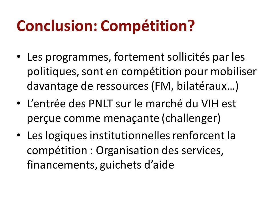Conclusion: Compétition