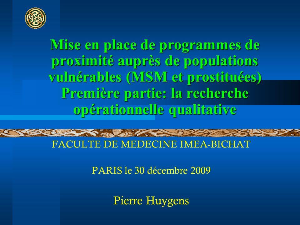 FACULTE DE MEDECINE IMEA-BICHAT