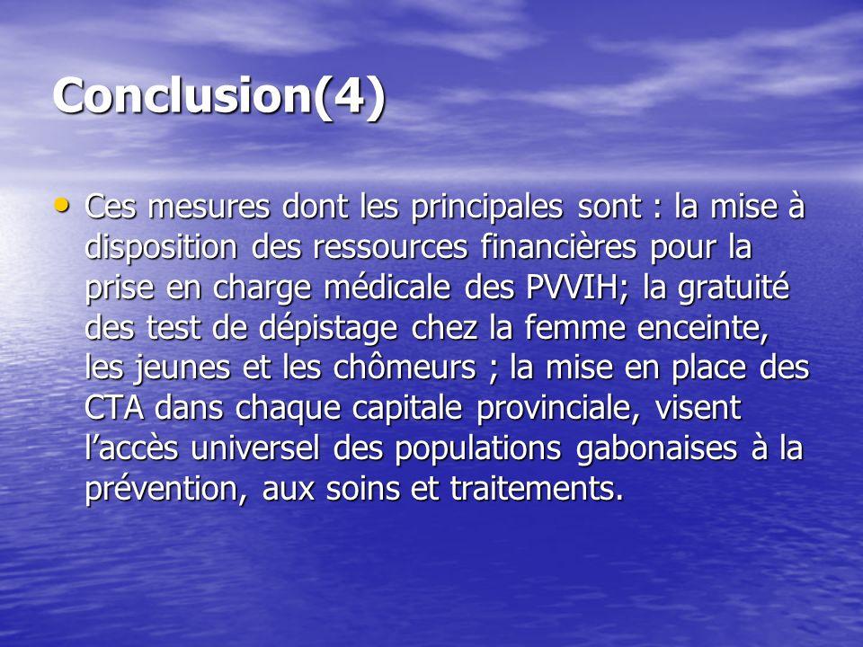 Conclusion(4)
