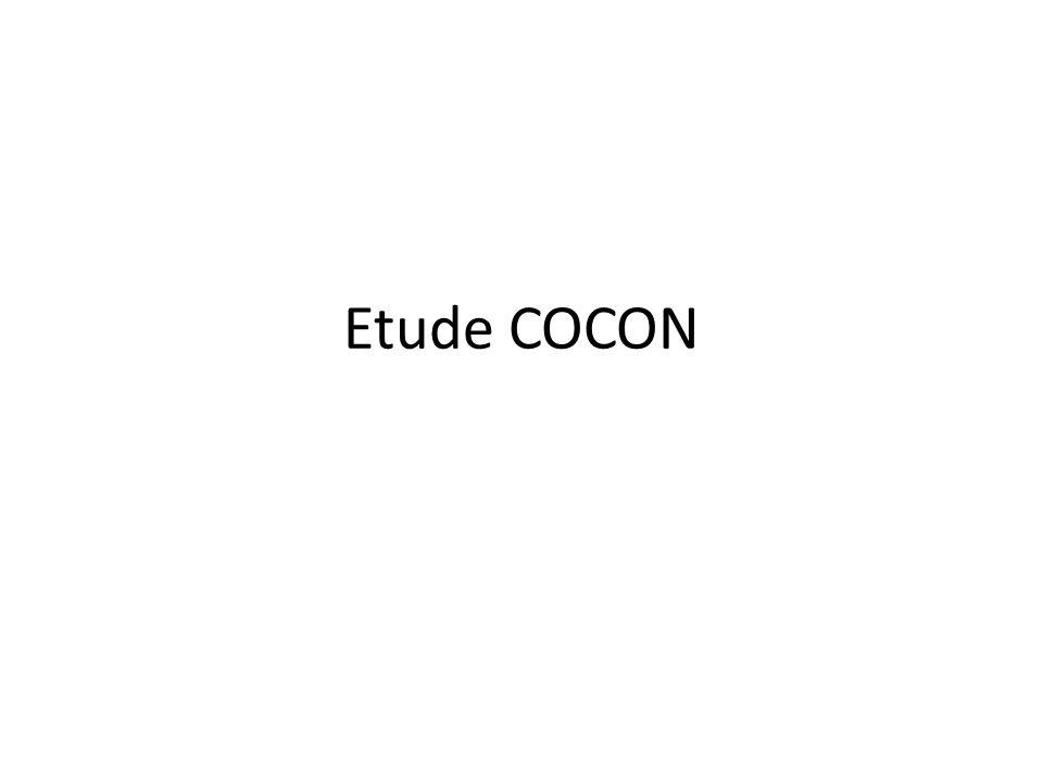 Etude COCON
