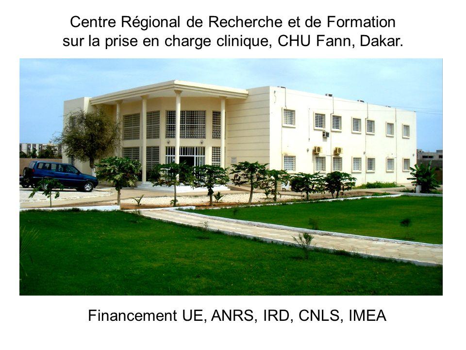Financement UE, ANRS, IRD, CNLS, IMEA