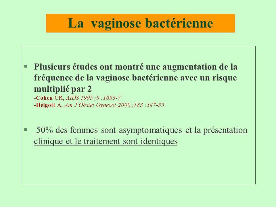 La vaginose bactérienne