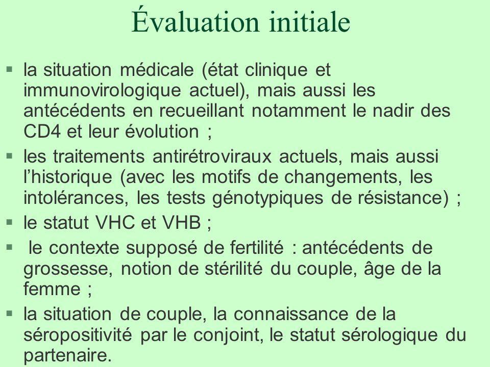Évaluation initiale