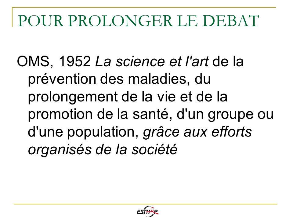 POUR PROLONGER LE DEBAT