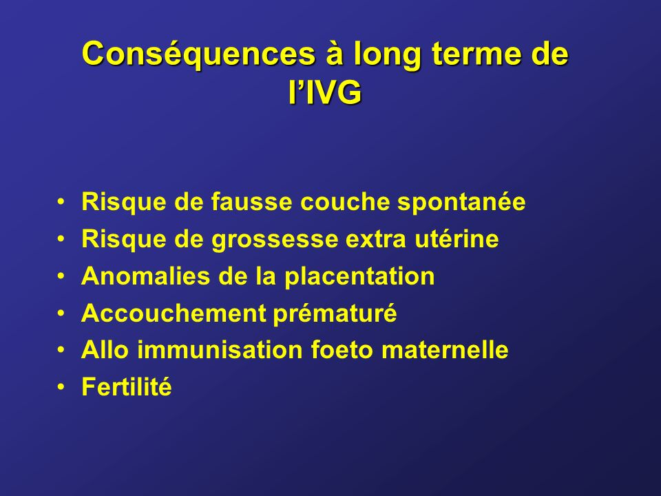 L interruption de grossesse ppt t l charger - Risque fausse couche par semaine ...