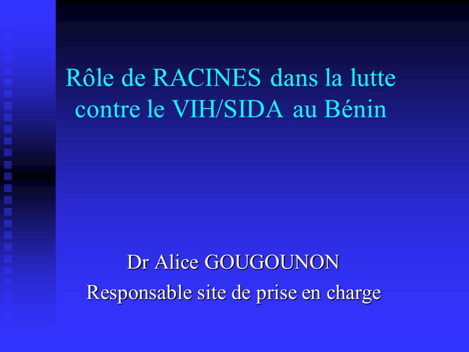 Rôle de RACINES dans la lutte contre le VIH/SIDA au Bénin