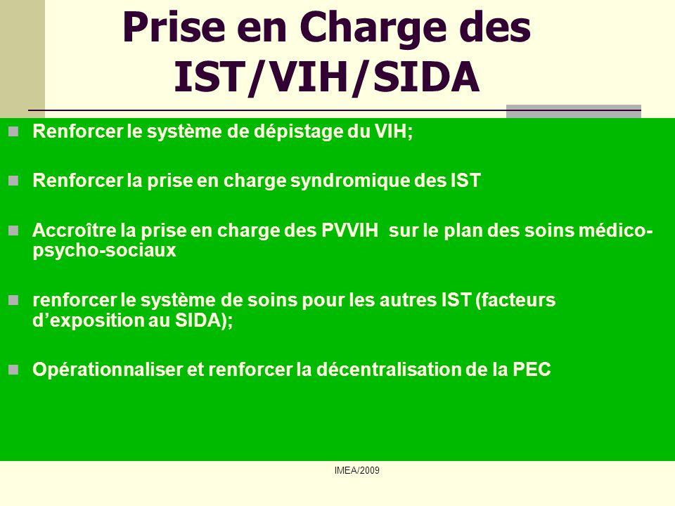 Prise en Charge des IST/VIH/SIDA